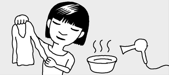 [리빙포인트] 늘어난 니트 소매 줄이는 법