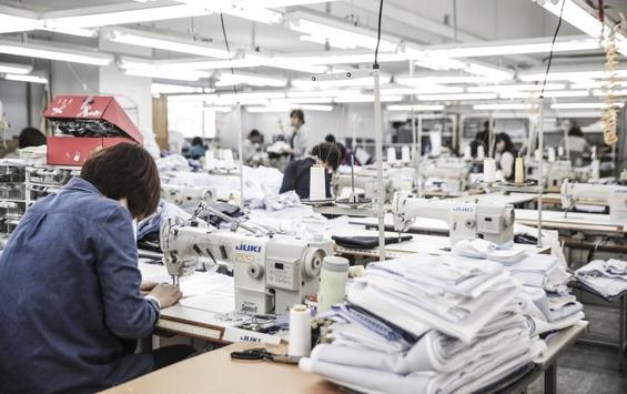 스트라입스 팩토리 전경, 한 달 평균 6,000여벌의 셔츠를 생산할 수 있다./사진=스트라입스 제공