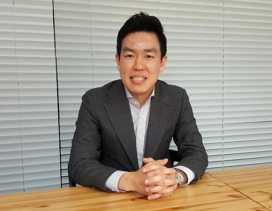 이재원 디이노 부사장이 11일 서울 신사동 디이노 본사에서 조선비즈와의 인터뷰를 하고 있다./윤희훈 기자