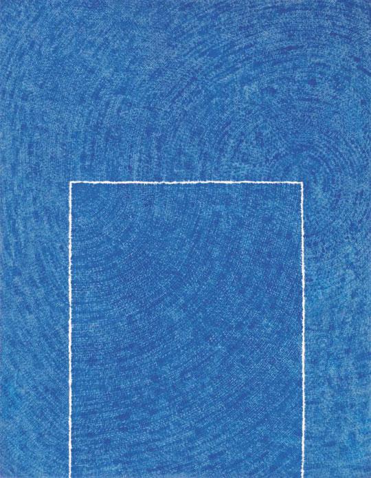 김환기의 청색점화 'Tranquility(고요) 5-IV-73 #310'