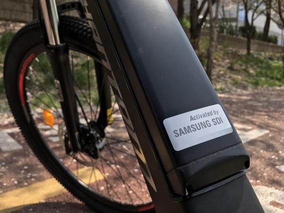 팬텀EX에 장착된 삼성SDI 배터리 /박성우