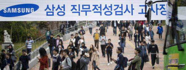 삼성그룹 마지막 공채 직무적성검사 GSAT
