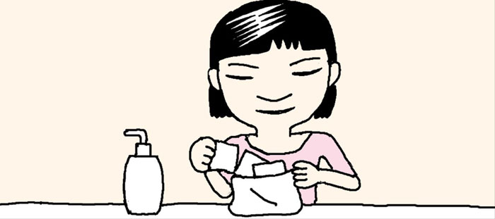 [리빙포인트] 화장용 스펀지 세척법