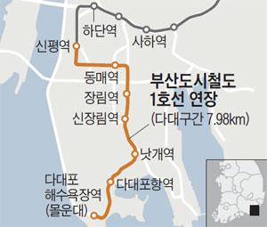 부산도시철도 1호선 연장