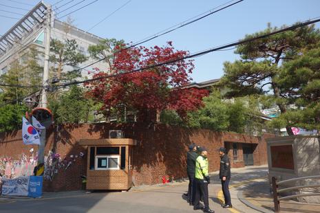박근혜 전 대통령의 서울 삼성동 자택. /최문혁 기자
