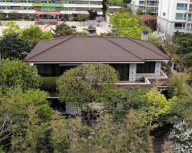 박근혜 전 대통령이 23년간 살았던 서울 강남구 삼성동 주택.