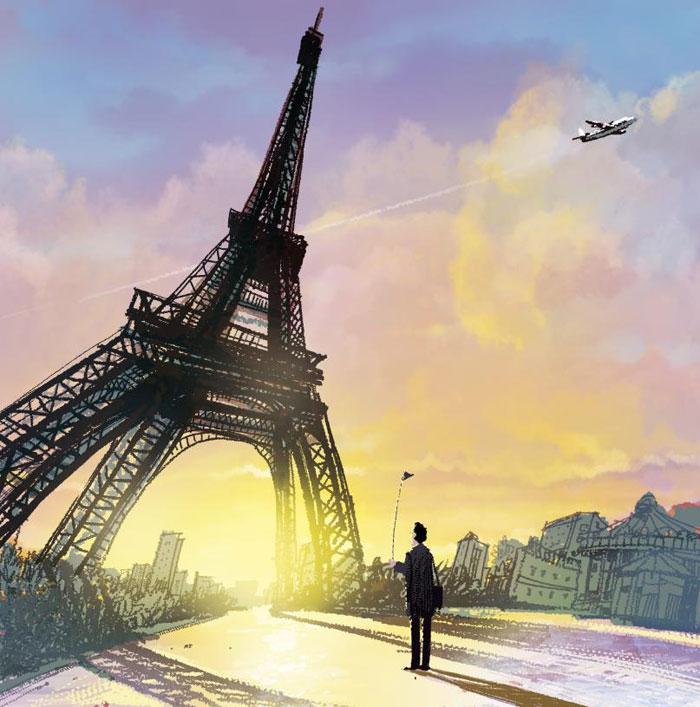 [김윤덕의 新줌마병법] 나는 파리의 여행가이드