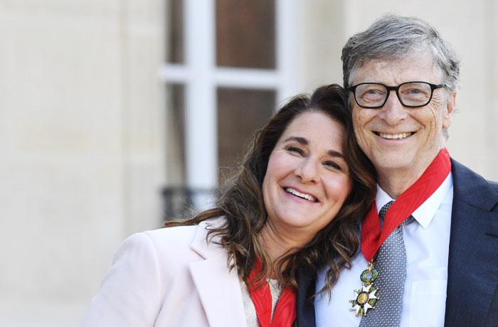빌 게이츠와 아내 멀린다 부부.