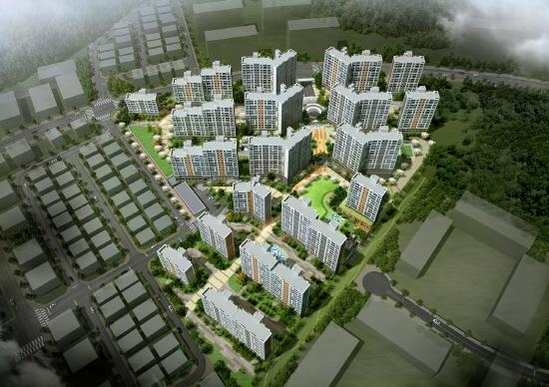 성남 고등 호반베르디움의 완공 후 예상 모습. /호반건설 제공