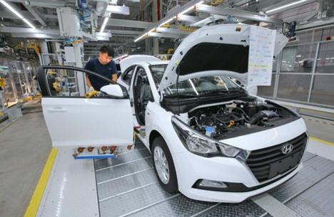 베이징자동차와 현대자동차가 합작으로 세워 작년 10월 가동에 들어간 창저우 공장/현대차 제공