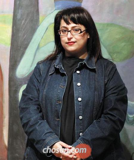 세계 미술 시장'큰손'중 한 사람인 샤르자예술재단의 후르 알 카시미 공주.