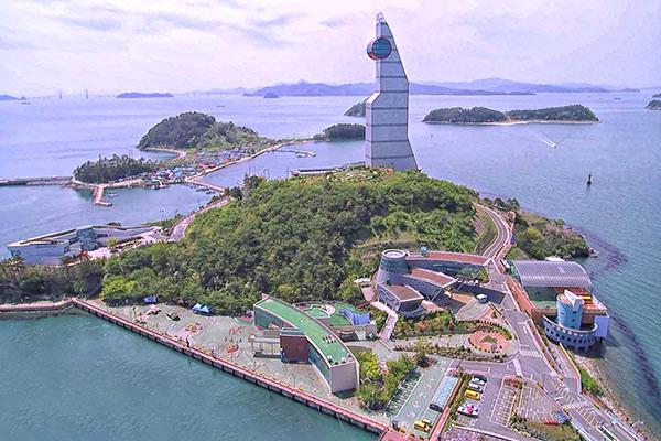 섬 전체가 나들이 명소인 진해해양공원