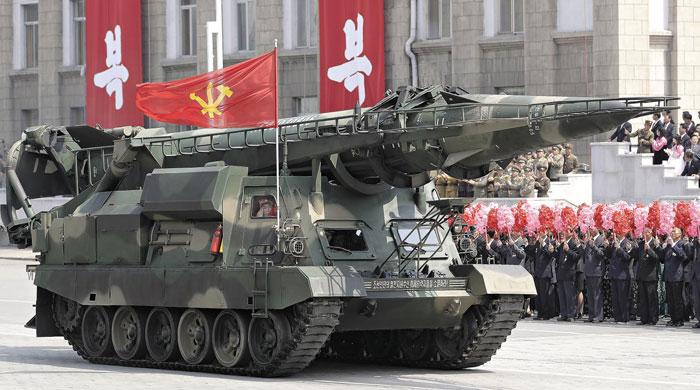 신형 지대함(地對艦) 탄도미사일 'KN-17'