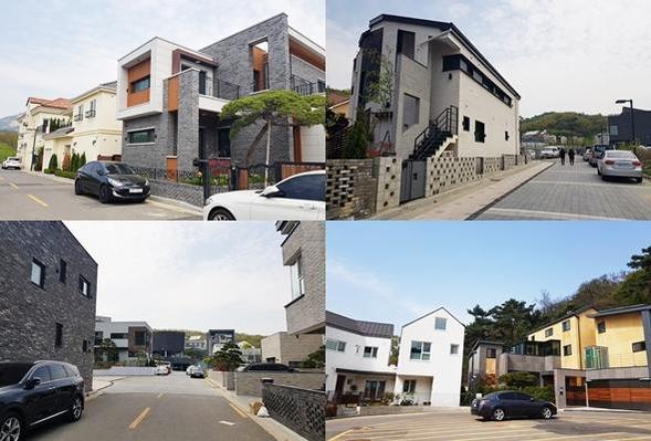 서울 은평뉴타운에 조성된 단독주택. /김수현 기자