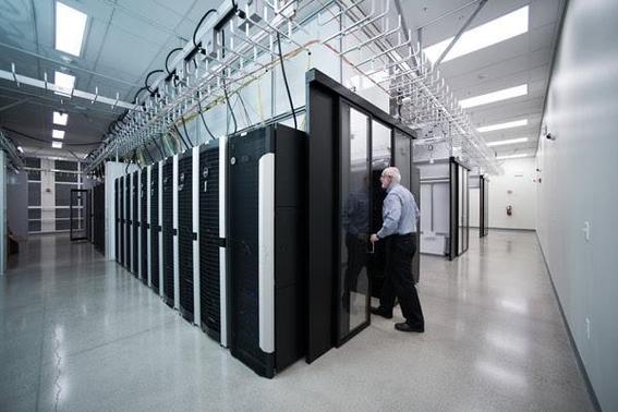스탠포드대 리서치 컴퓨팅 센터 내부./ 스탠포드대 제공