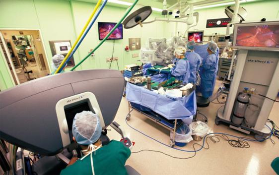 세브란스병원 로봇 수술장면/ 세브란스병원 제공