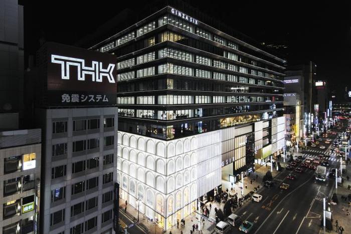뉴욕 MoMA를 설계한 건축가 다니구치 요시오가 디자인한 외관.
