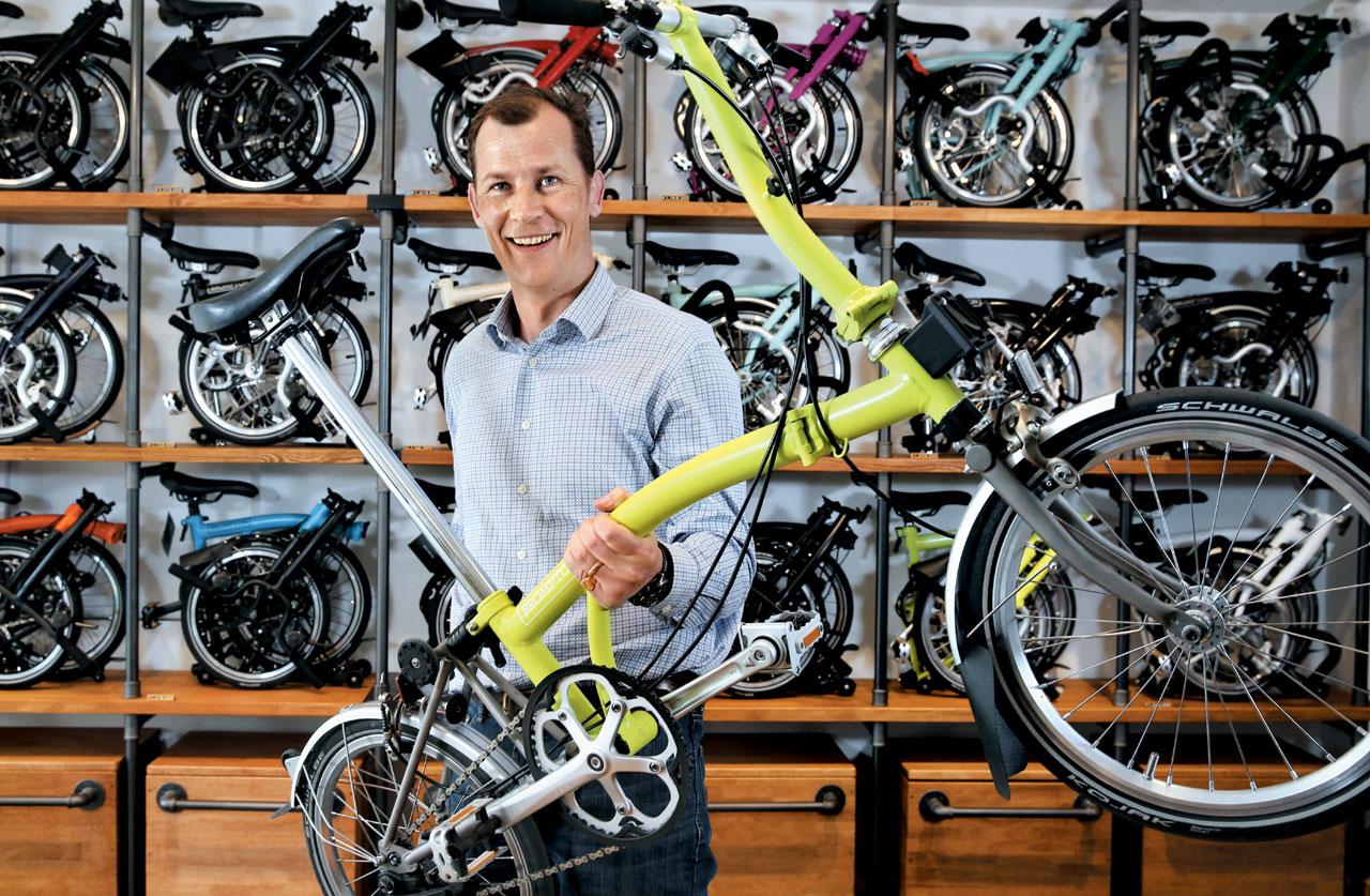 영국 최대 자전거 메이커 브롬톤의 윌 버틀러―애덤스 CEO는 한국을