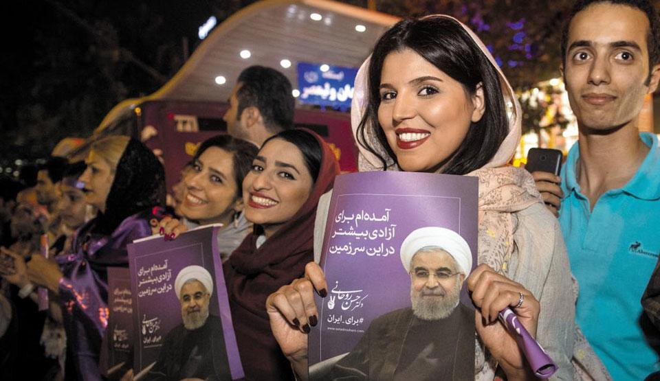 로하니 이란 대통령, 57% 득표로 재선… 親서방 개방 정책 탄력