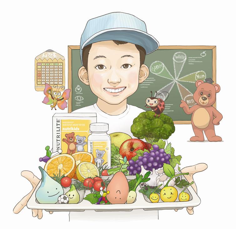 뛰놀 시간 부족한 아이들, 튼튼하게 키우려면 '식물 영양소' 주목