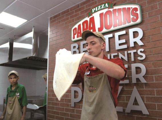 피자 프랜차이즈 '파파존스'./블룸버그