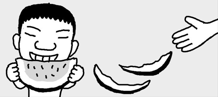 [리빙포인트] 수박껍질 하얀부분 활용법