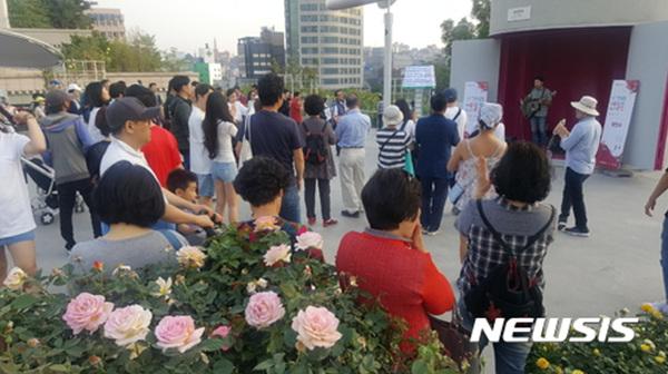 서울로7017 평일 직장인 휴식·문화 행사 열린다