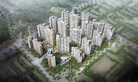최근 서울에서 가장 주목받는 재건축 시장인 강동구 상일동에 공급되는 '고덕 센트럴 아이파크'는 주변에 녹지 공간이 풍부하고, 교통·교육환경이 뛰어난 것이 장점으로 꼽힌다.