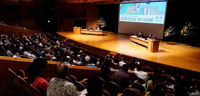 2016년 6월 일본 교토 도시샤대에서 '희망의 지평'이란 주제로 열렸던 '제3회 AAS-in-Asia' 학술대회 모습.