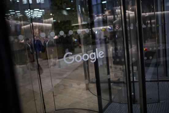 런던 킹스크로스의 구글 지사 입구/블룸버그 제공