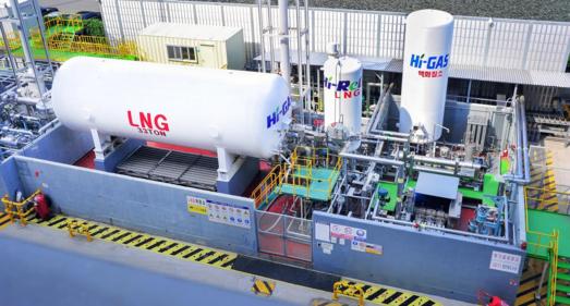 현대중공업 LNG 실증설비/현대중공업 제공