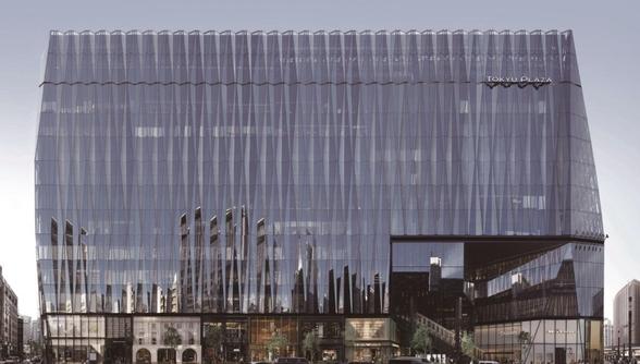 지난해 완공된 도쿄 긴자(銀座)에 위치한 쇼핑몰 '도큐플라자긴자'. 건축사무소 닛켄셋케이(日建設計)가 설계하고 시미즈건설이 시공했다./사진=건축전문웹진 '아치데일리'