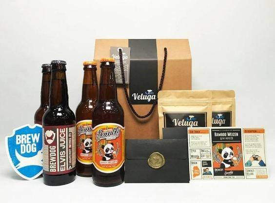 벨루가 브루어리의 맥주 정기 배송 서비스 패키지. /벨루가 브루어리 제공