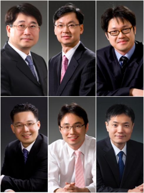 문강배(상단 왼쪽부터), 오금석, 강일, 민인기(하단 왼쪽부터), 안준규, 최휘진 변호사/ 홈페이지 캡처