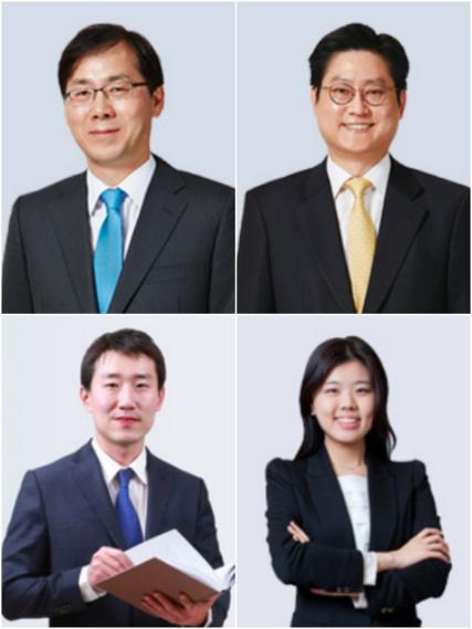 노만경(상단 왼쪽부터 시계방향), 문기주, 나혜선, 민원규 변호사/홈페이지 캡처