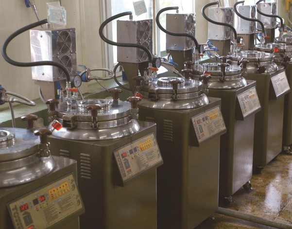 경희대한방병원 탕제실. 체계적인 제조 설비를 갖췄다.