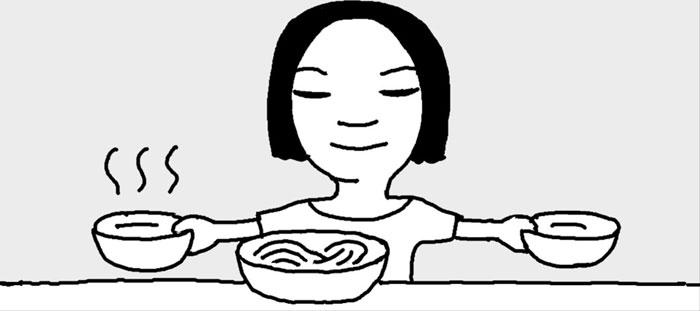 [리빙포인트] 비빔국수 면발 탱탱하게 만들기