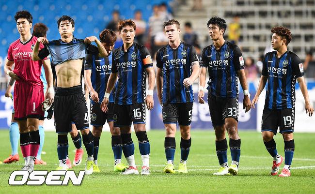 [사진]인천 유나이티드,'비겼지만 4G 무패 이어갑니다'