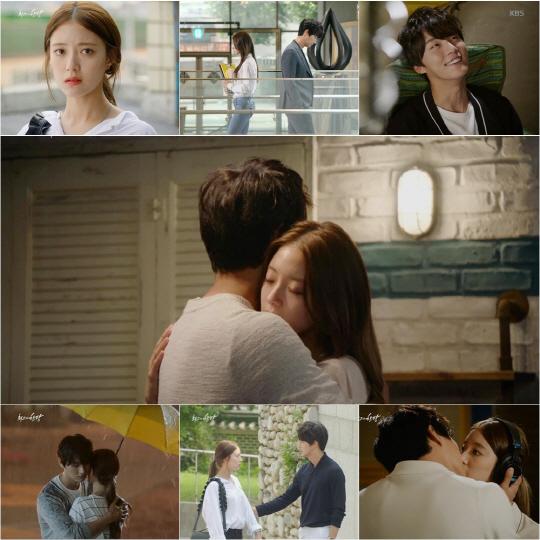 '최고의한방' 윤시윤·이세영, 포옹 엔딩…시공간 초월 로맨스