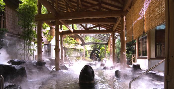 요나고 관광 시 꼭 들러봐야 하는 미사사 온천.