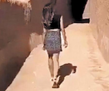 사우디 발칵 뒤집은 미니스커트 동영상