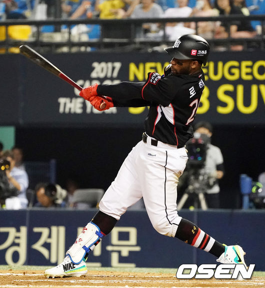 '로하스 결승 3점포 작렬' kt, 후반기 첫 승