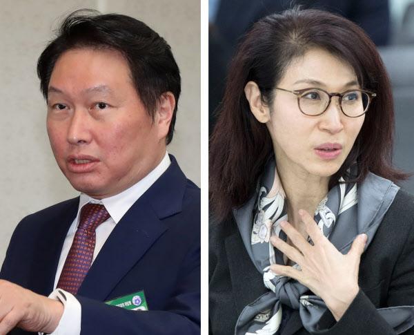 """노소영""""이혼 불가 입장 변화없다""""…최태원 SK회장, 이혼 소송으로 가나"""