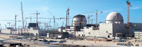 아랍에미리트(UAE) 바라카 원전 1·2호기 공사 현장.