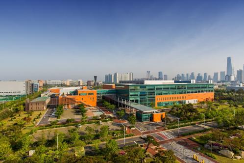 셀트리온헬스케어 본사가 있는 인천 송도 셀트리온 사업장의 모습 / 셀트리온헬스케어 제공