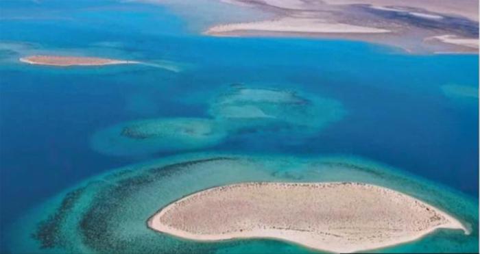 사우디아라비아 정부가 2019년 착공해 2022년 완공할 예정인 홍해 휴양지 부지.