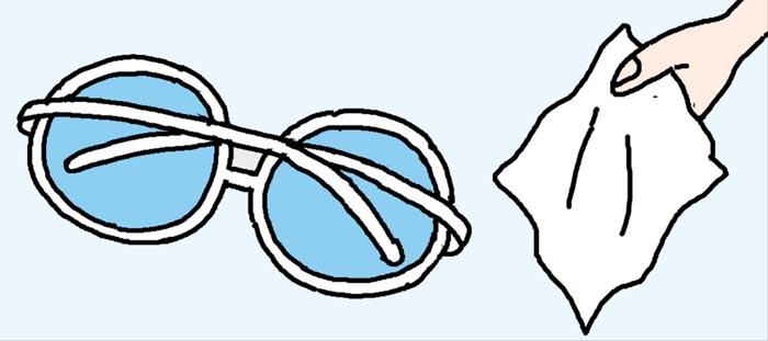 [리빙포인트] 선글라스 오래 쓰는 보관법