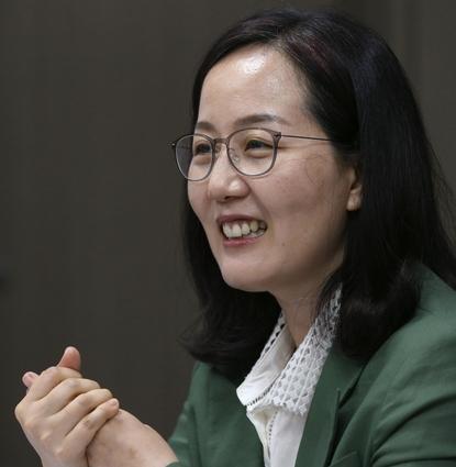 """김현아 의원은 """"향후 3~5년 간은 주택 공급이 부족하진 않을 것""""이라고 예상했다. / 이덕한 기자"""