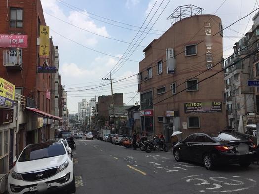 한남뉴타운으로 지정된 서울 용산구 보광동 일대. /이상빈 기자