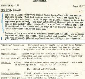 국사편찬위원회가 발굴한 미국 문서 '동남아시아 번역심문센터 심리전 시보 제182호'(위쪽)와 '연합군 번역통역부(ATIS) 심문보고서'.